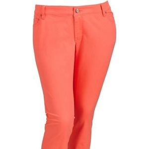Old Navy High-rise Rockstar Skinny Coral Jeans, 16